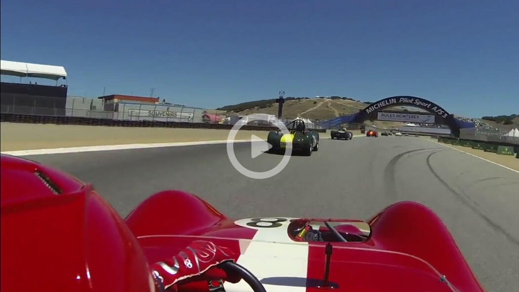 Reunion 1st Qualifier…watch at 3:09 as I drop a wheel at turn 6 on the exit, head stage left and then turn upstream